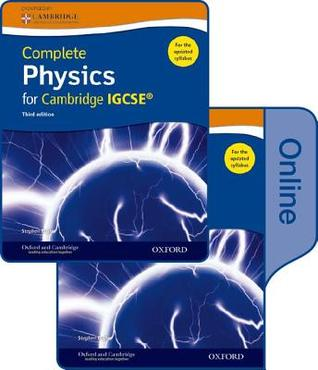 Complete Science for Cambridge Igcse: Complete Physics for Cambridge Igcse Print and Online Student Book Pack