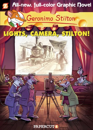 Lights, Camera, Stilton! (Geronimo Stilton Graphic Novels, #16)
