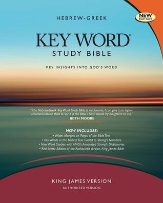 The Hebrew-Greek Key Word Study Bible: KJV Edition, Black Bonded Leather Thumb-Indexed