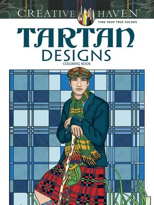 Creative Haven Tartan Designs Coloring Book
