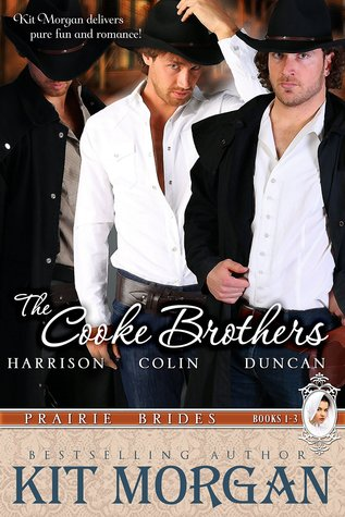 The Cooke Brothers (Prairie Brides, Books 1-3)