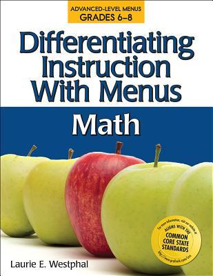 Differentiating Instruction With Menus Middle School Math By Laurie