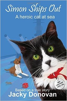 Simon Ships Out A heroic cat at sea. Based on a true story