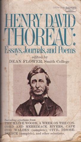 Henry David Thoreau: Essays, Journals, and Poems