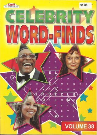 Celebrity Word-Finds (Volume 38)