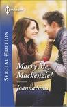 Marry Me, Mackenzie! (Brands of Montana)