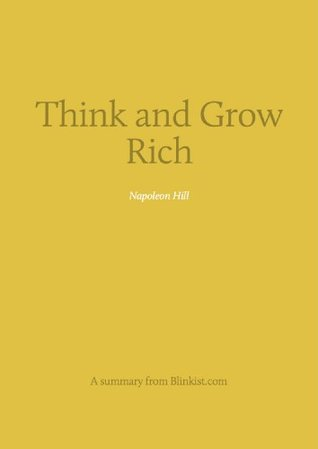 Key insights from Think and Grow Rich