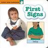 First Signs Board Book by Garlic Press