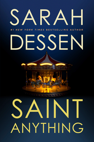 Image result for Saint Anything by Sarah Dessen
