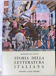 Storia della letteratura italiana by Francesco De Sanctis