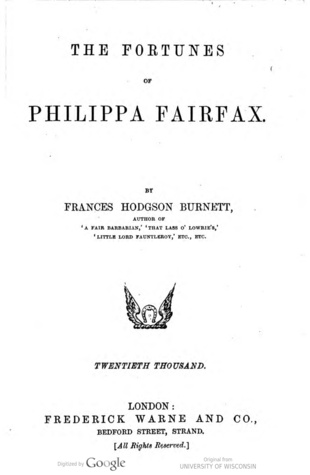 The Fortunes of Philippa Fairfax
