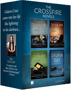 Sylvia Day Crossfire Series 4 Volume Boxed Set