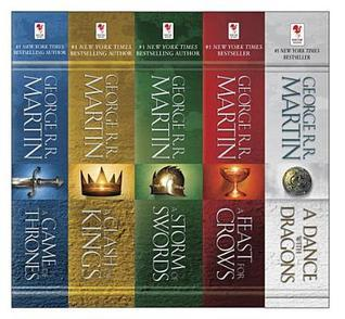 George R. R. Martin's A Game of Thrones 5-Book Boxed Set: A Game of Thrones, A Clash of Kings, A Storm of Swords, A Feast for Crows, and and A Dance with Dragons (A Song of Ice and Fire #1-5)