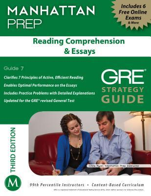 reading comprehension essays gre strategy guide rd edition by  13260333