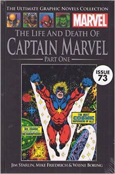 The Life and Death of Captain Marvel, Part 1 (Marvel Ultimate Graphic Novels Collection)