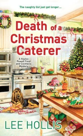 Death of a christmas caterer by Lee Hollis