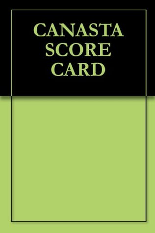 Canasta Score Card By Arthur Maret