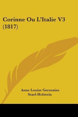 Corinne Ou L'Italie V3 (1817)