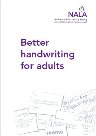 Handwriting books for adults