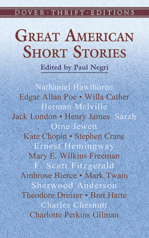 Great American Short Stories by Paul Negri