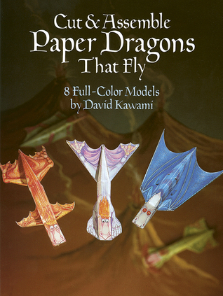 Cut  Assemble Paper Dragons That Fly
