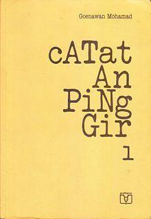 Catatan Pinggir 1 by Goenawan Mohamad