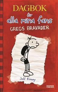 Gregs bravader (Dagbok för alla mina fans, #1)