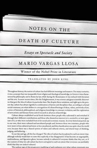 Notes on the Death of Culture: Essays on Spectacle and Society