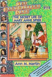 The Secret Life of Mary Anne Spier (The Baby-Sitters Club, #114)