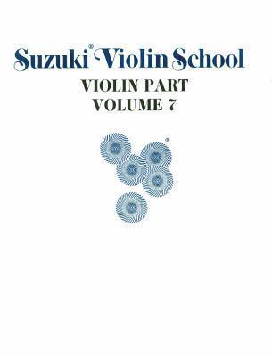 Suzuki Violin School, Vol 7: Violin Part