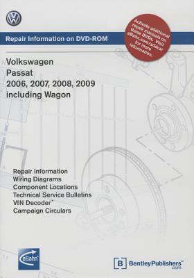 Volkswagen Passat 2006, 2007, 2008, 2009: Repair Manual on DVD-ROM: Includes Wagon