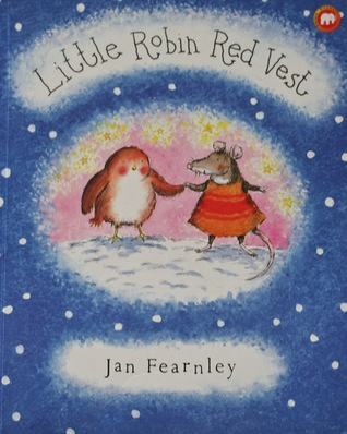 Little Robin Red Vest By Jan Fearnley
