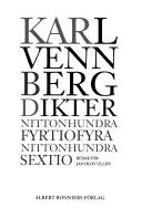 Dikter: Nittonhundra fyrtiofyra-nittonhundra sextio