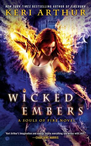 Book Review: Keri Arthur's Wicked Embers