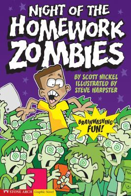 Night of the Homework Zombies(Graphic Sparks)