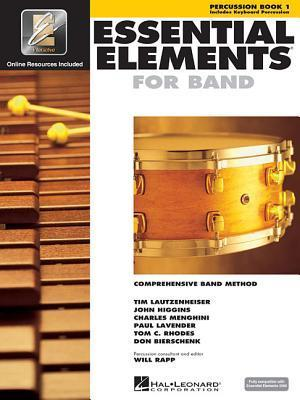 Essential Elements 2000: Comprehensive Band Method : Percussion Book 1