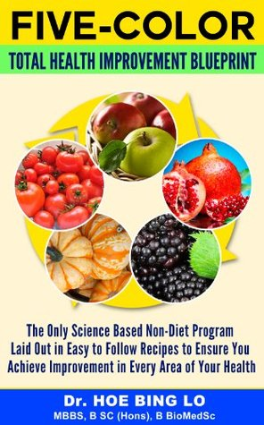 Total Health Improvement Blueprint: The Only Science Based Non Diet Program Laid Out in Easy To Follow Recipes To Ensure You Receive Improvement in Every Area of Your Health (Five Color Book 1)