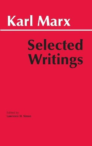 Selected writings by karl marx fandeluxe Images