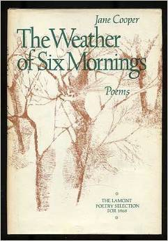Weather of Six Mornings: Poems