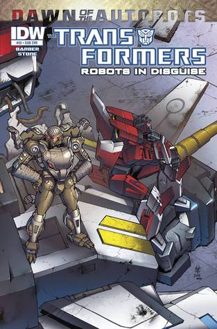 Transformers: Robots in Disguise #33 - Dawn of the Autobots