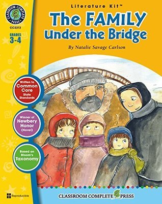 The Family Under the Bridge Literature Kit Gr. 3-4