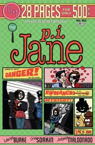 P.I. Jane #2: Not-So-Secret Origins