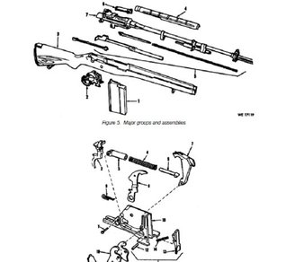 OPERATOR AND ORGANIZATIONAL MAINTENANCE REPAIR PARTS AND SPECIAL TOOL USTS FOR RIFLE, 7.62-MM, M14 (NATIONAL MATCH) AND RIFLE, 7.62MM, M14(M), Plus 500 ... field manuals when you sample this book