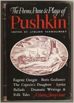 The Poems, Prose and Plays of Alexander Pushkin