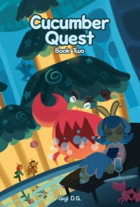 Image result for cucumber quest book 2