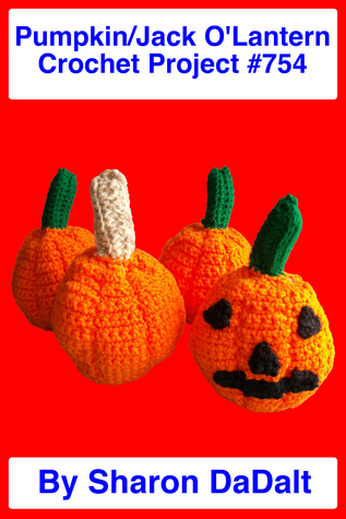Small Pumpkin/Jack O'Lantern Crochet Project #754