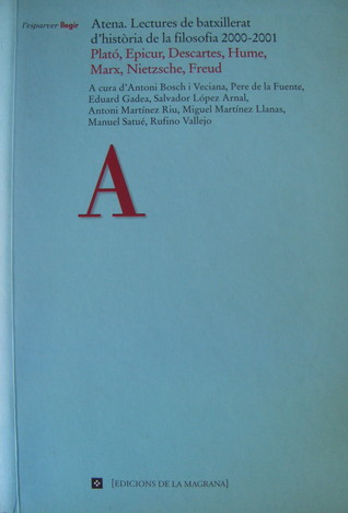 Atena. Lectures de batxillerat d'història de la filosofia 2000-2001