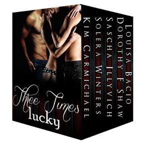 Three times lucky five sizzling tales of three way love by kim 23736226 fandeluxe