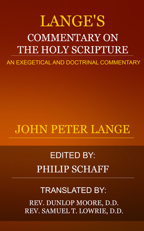 Lange's Commentary on the Holy Scriptures Volume 5