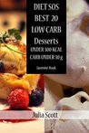 DIET SOS:20 BEST LOW CARB DESSERTS RECIPES FOR WEIGHT LOSS / DIET COOKBOOK